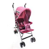 Carrinho Para Bebê Berço E Passeio Rosa - Baby First Love