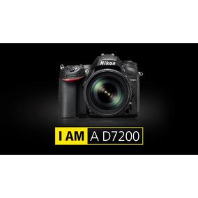 Nikon D7200 Kit 18-140mm Vr 24.2mp Full Hd Nuevo Envio Gtía!