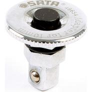 Adaptador Llave Para Convertir Ratchet 1/4 X 10mm Sata 46654