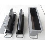 Kit Forma Fazer Blocos E Canaletas De 10 Cimento Concreto