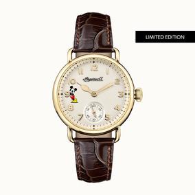Reloj Ingersoll Dorado Dama Edicion Limitada Id00102