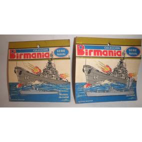 Antiguo Lote De Barcos De Guerra Birmania No Soldaditos 1960