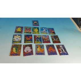 Lote 16 Cards Pokemon Pocket Monsters - Japon 1999 Nuevas