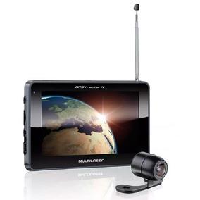 Gps Navegador Multilaser Tela 7.0pol Câmera De Ré E Tv Gp039