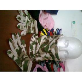 Bufanda-gorro-pechera Doble Vista + Guantes T/colores Regalo