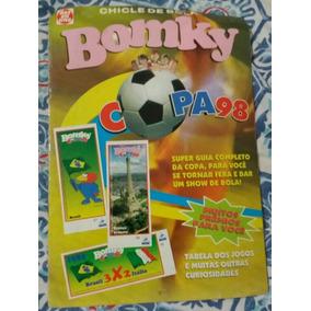 Álbum Incompleto Copa Do Mundo - 1998