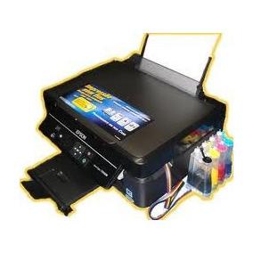 Impressora Epson Tx235w Com Bulk Wifi Corante Aproveite