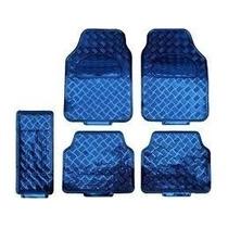 Jogo Tapetes Azul Metalizados 5 Peças