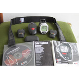 Reloj Polar S725x C Banda + Sensores Bicicleta Y Running