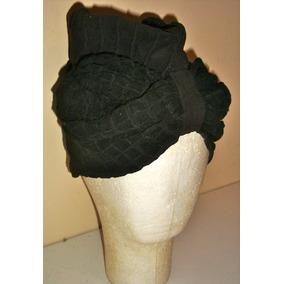 Sombrero Antiguo De Mujer Tipo Turbante - Ref 153