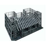 Steel Frame - Construção. Materiais E Mão De Obra.