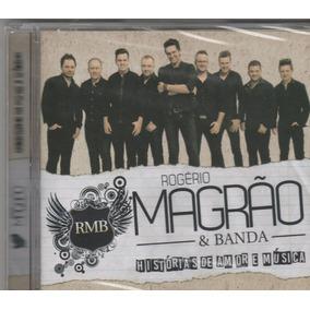 Rogério Magrão E Banda - Cd Histórias De Amor E Música