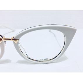Armação De Óculos Azzaro Em Fendi - Óculos De Sol Sem lente ... 06802473f0