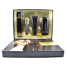Set Gold Rush Man 4 Piezas 100 Ml Eau De Toilette + 10 Ml Ea