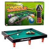 Mini Mesa Turbo Snooker Bilhar Sinuca Brinquedo Infantil