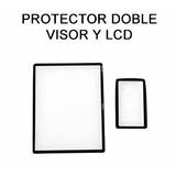 Protector De Pantalla Nikon D7100 D7200 Lcd 2 Protectores !!