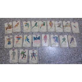 Cartas Cromy Super Amigos Años 80 Zona Retro Juguetería
