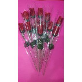 Paquete 12 Rosas Para Regalo, 10 Mayo Etc.