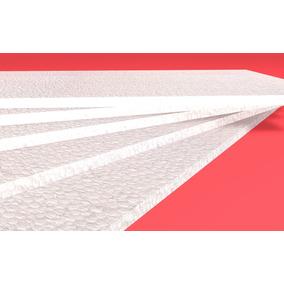 Placa De Unicel Nieve Seca De 100x50x1 Cm.