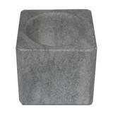Pilão Quadrado Com Socador Em Pedra Sabão