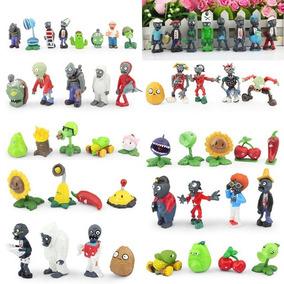 10 Figuras Coleccionables De Plantas Vs Zombies Para Niños