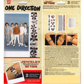 Tempt Tattous One Direction Waterbased Temporary Tattoo, Jew