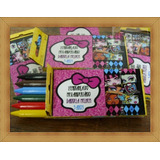 Lembrancinhas Monster High - Giz De Cera Personalizado