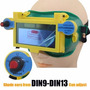 Óculos De Solda Escurecimento Automático Regulagem 9 A 13