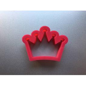 Molde Cortante De Corona Princesa Kit X 2 Unidades