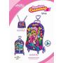 Kit Mochilete + Lancheira Charminho Uva, Max Toy 3d