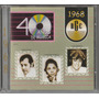 Cd 40 Anos De Música 1968 - Geraldo Vandré Luiz Américo ...