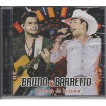 Bruno E Barreto - Dvd A Força Do Interior - Lacrado