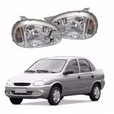 Optica Chevrolet Corsa 94 95 96 97 98 99 2000 Cromada Izq