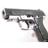 Pistola Marcadora Daisy Airsoft Blowback 4.5mm Cromada