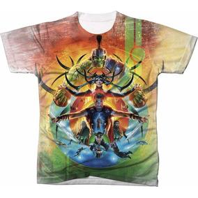 Camisa Camiseta Blusa Filme Super Heroi Thor Ragnarok 02