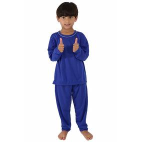 Pijama Infantil Masculino Manga Longa 078 -roupas De Criança