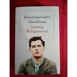 Libro Investigaciones Filosóficas - Ludwig Wittgenstein #dc