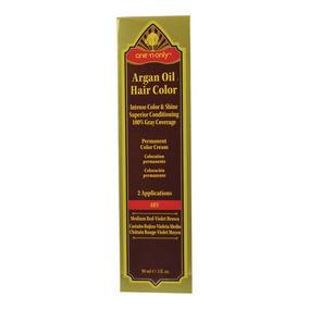 Tinte Permanente En Crema Con Aceite Argán