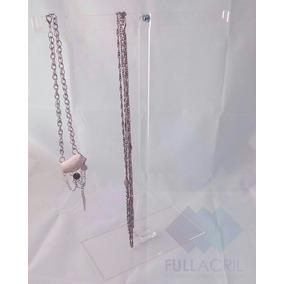 Combo Exhibidor Collar , Pulseras T Porta Aros Cuádruple.