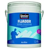 Fijador Sellador Al Agua Para Paredes Venier 4 L Concentrado