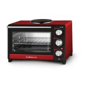 Horno Eléctrico Ultracomb 28lt Con Anafe Superior Uc28a