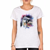 Remera Caballo Estilo Watercolor Equino Hermoso Animales