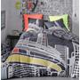 Capa Edredom Solteiro+ Fronha Arranha-ceu New York Pixie-usa