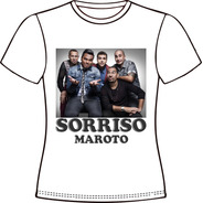 Camiseta, Baby Look, Regata, Almofada... Sorriso Maroto 04