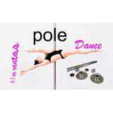 Tubo Para Pole Dance Giratorio Profesional Con Tapete Gratis