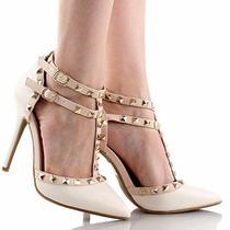 Zapatos De Tacon Marca Wild Diva Estilo Adora-64 Originales
