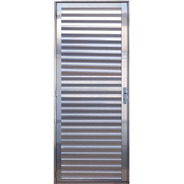 Porta Palheta De Alumínio Brilhante 2,10 X 0,80 Direita