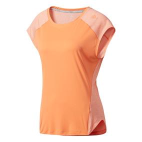 Camiseta Manga Corta Para Correr De Mujer adidas Tko Ss Tee
