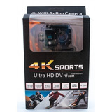 Camera Action Prova Dágua 4k Full Ultra Hd Esportes Radicais