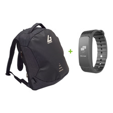 Mochilas Antirrobo Legend M1810  Black &dark Gray+ Smartband